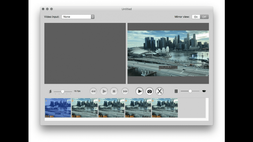 FrameByFrame for Mac - review, screenshots