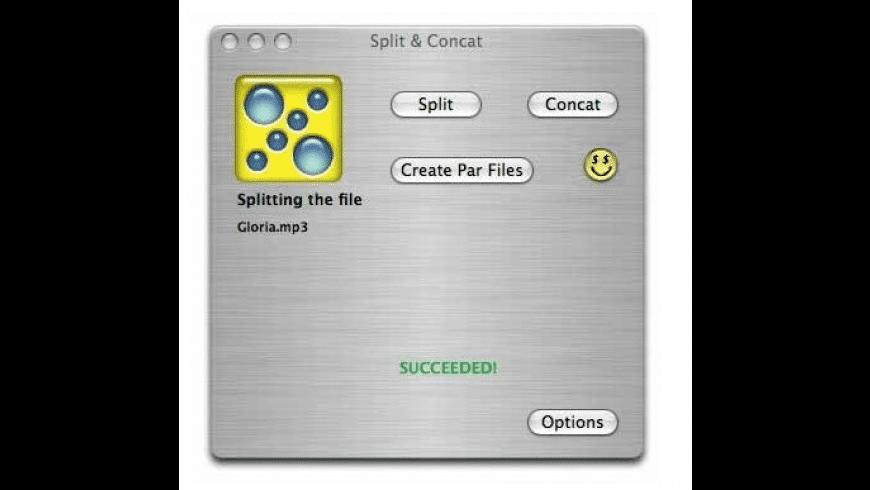 Split & Concat for Mac - review, screenshots