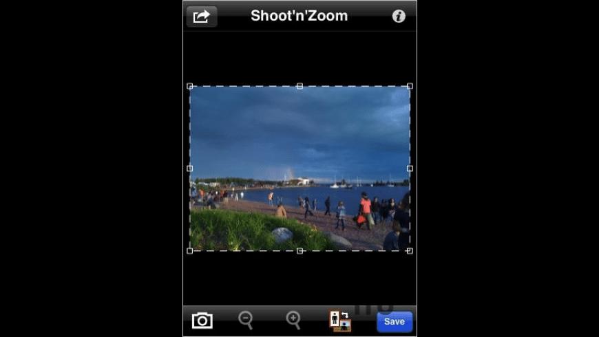 Shoot'n'Zoom for Mac - review, screenshots
