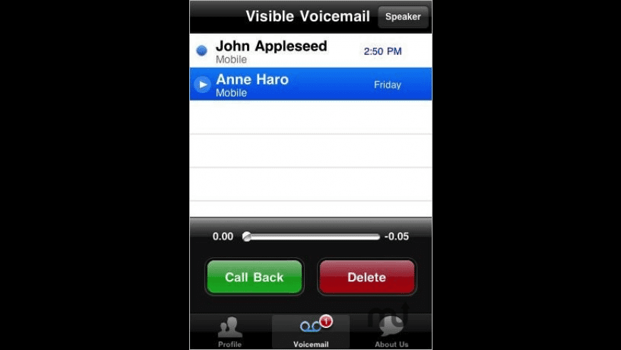 Visible Voicemail for Mac - review, screenshots