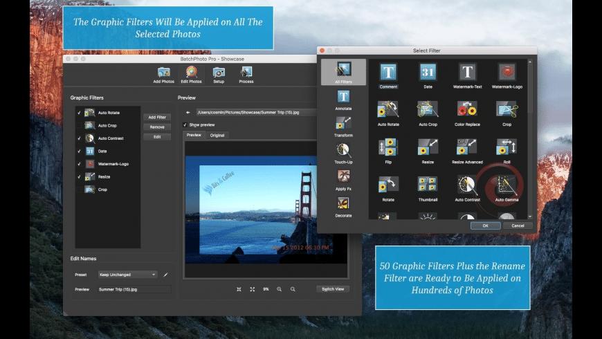 BatchPhoto for Mac - review, screenshots
