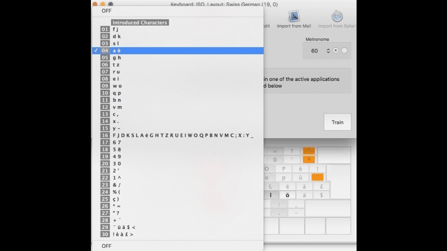 aTypeTrainer4Mac for Mac - review, screenshots