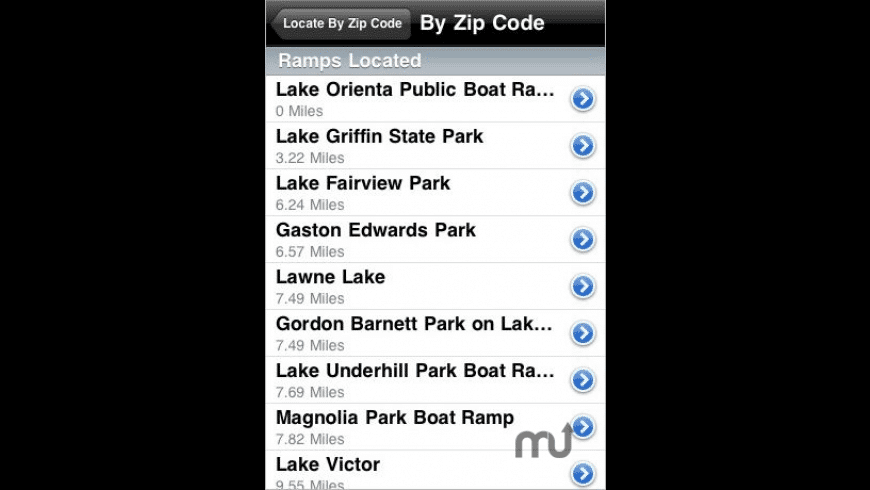 Boat Ramps for Mac - review, screenshots