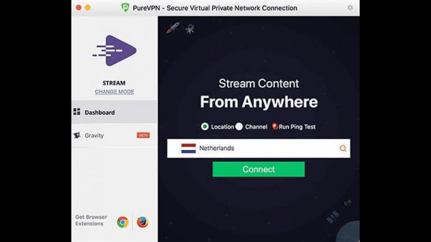 PureVPN for Mac - review, screenshots