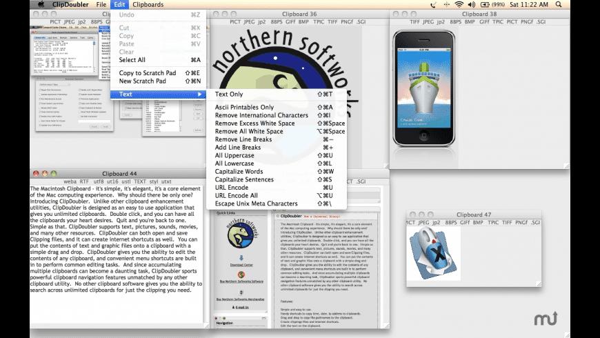 ClipDoubler Mac 破解版 简单易懂的剪切板工具