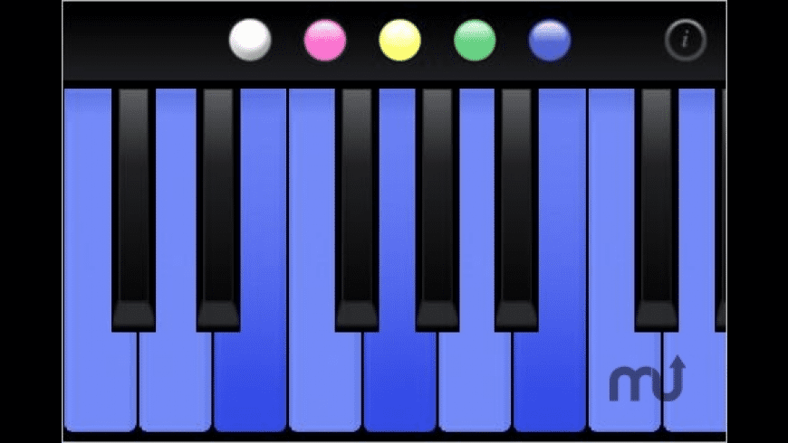 Color Me Piano for Mac - review, screenshots