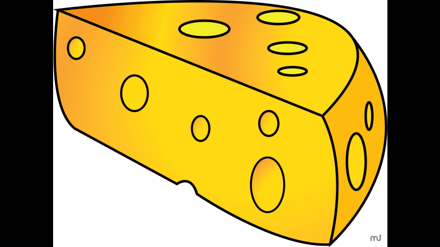 Cheese Icons for Mac - review, screenshots