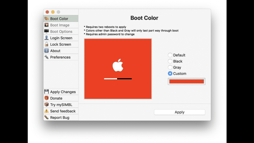 Dark Boot for Mac - review, screenshots