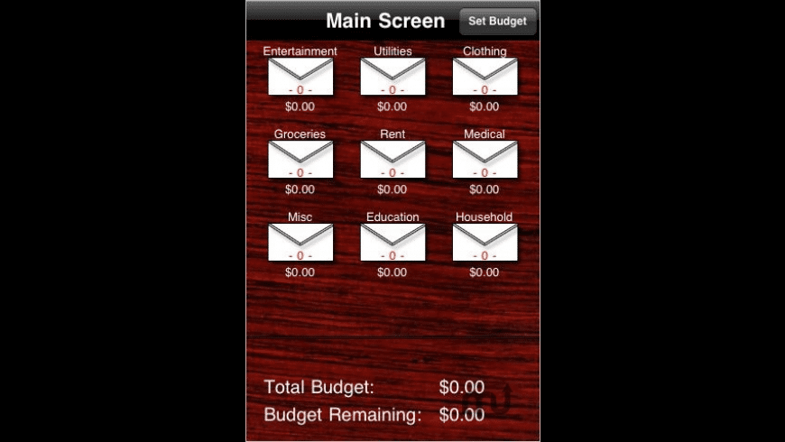 Budget Buddy for Mac - review, screenshots