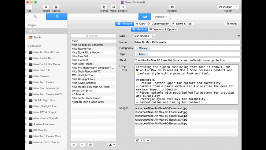RapidCart Pro for Mac - review, screenshots