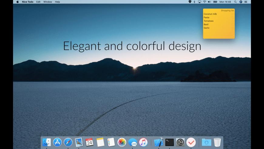 Nice Todo for Mac - review, screenshots