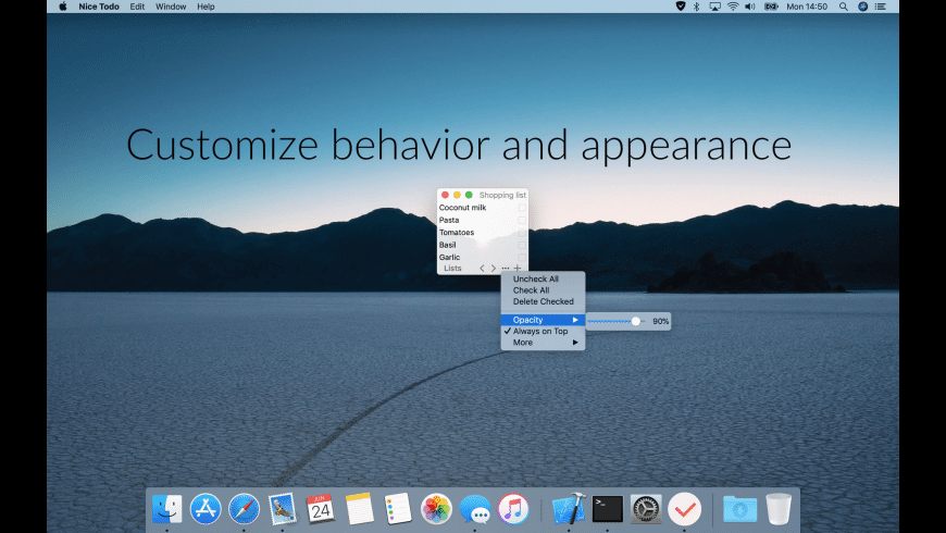 Nice Todo for Mac - review, screenshots
