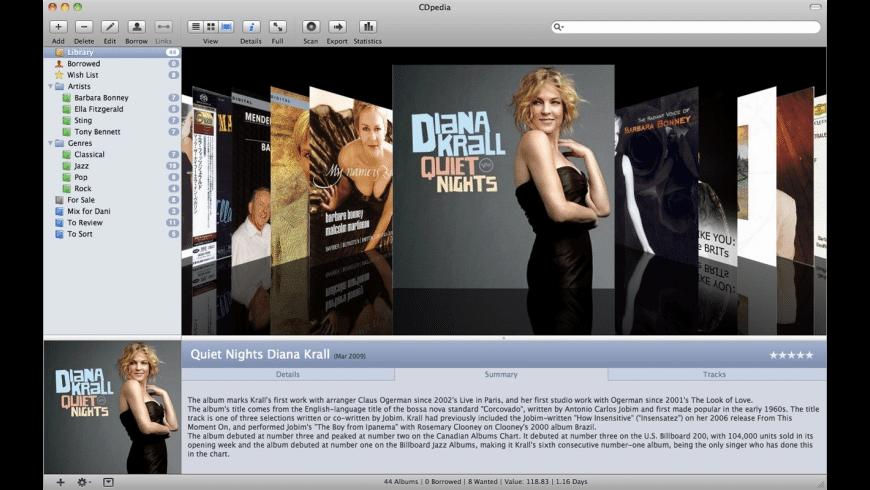 CDpedia for Mac - review, screenshots