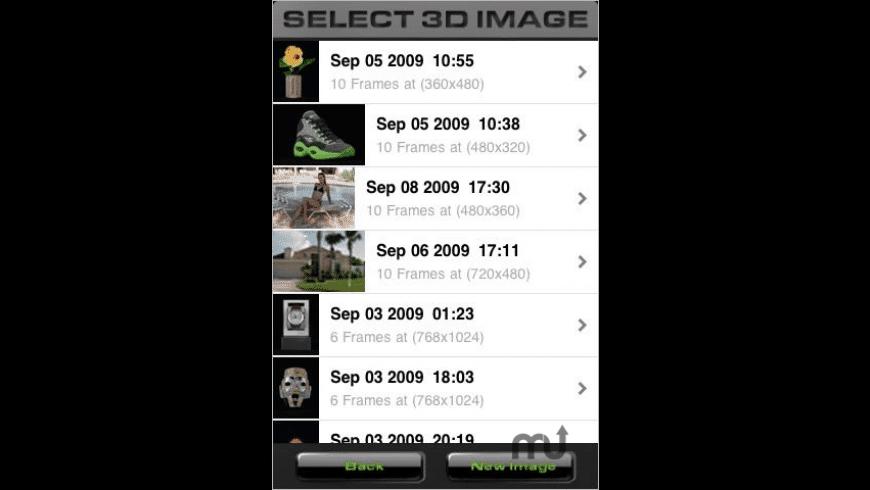 aE 3D Camera for Mac - review, screenshots