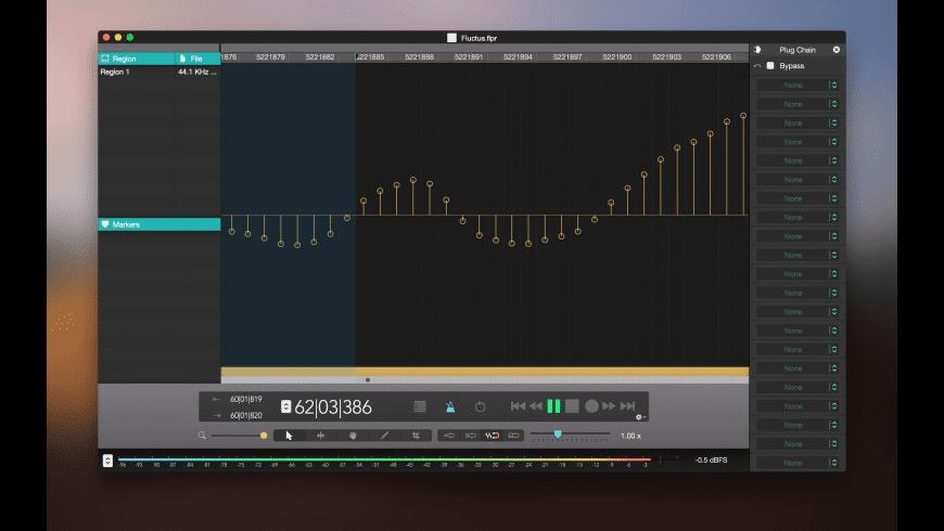Fluctus for Mac - review, screenshots