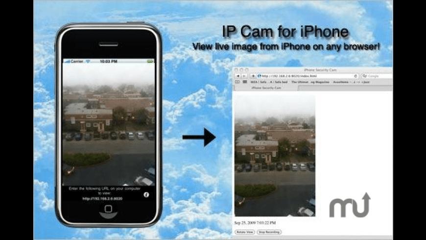 IP Cam Pro for Mac - review, screenshots