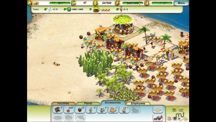 Paradise Beach for Mac - review, screenshots