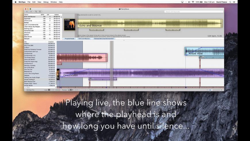 MixTape Pro for Mac - review, screenshots