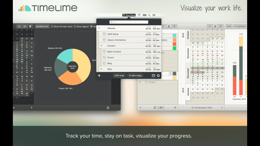 Timelime for Mac - review, screenshots