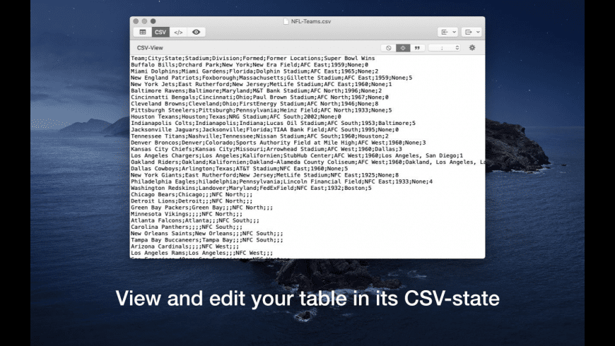 MarkupTable for Mac - review, screenshots