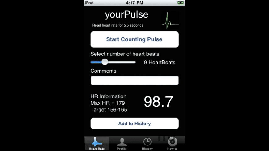 yourPulse for Mac - review, screenshots