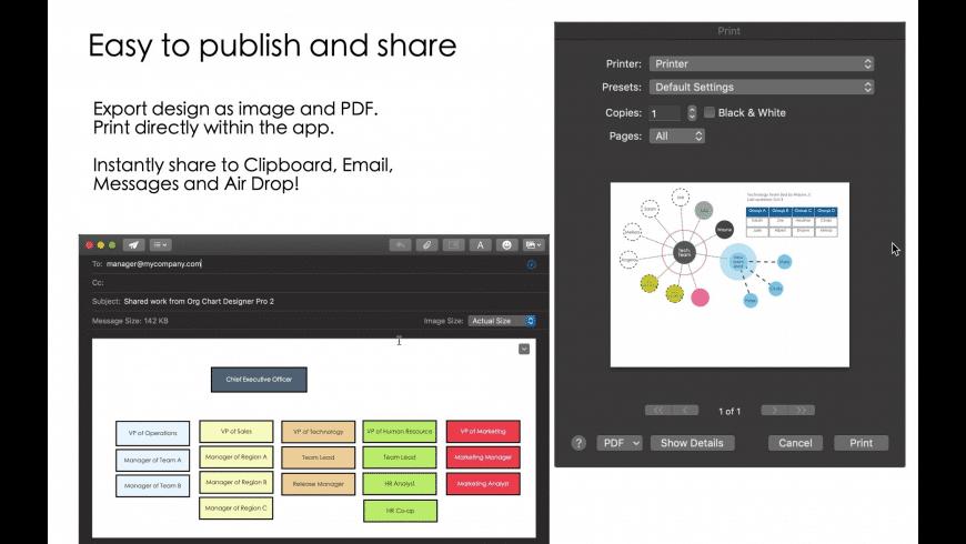 Org Chart Designer Pro for Mac - review, screenshots
