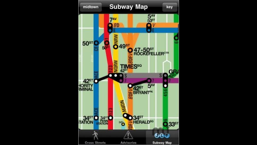 NYC Subway for Mac - review, screenshots