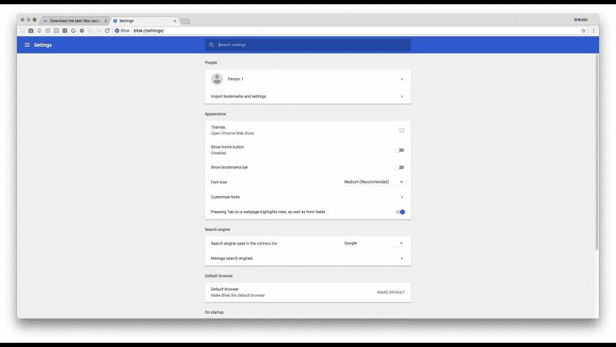 Blisk for Mac - review, screenshots