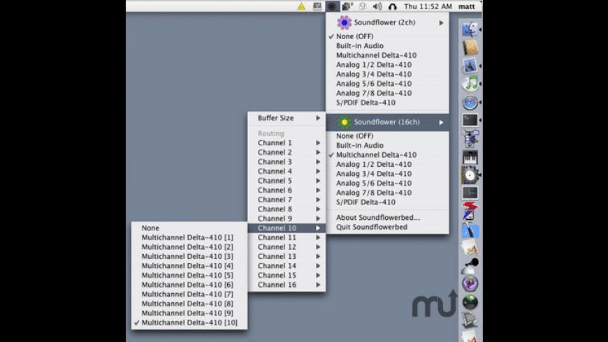 Soundflower for Mac - review, screenshots