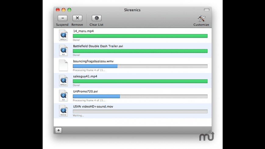 Skreenics for Mac - review, screenshots