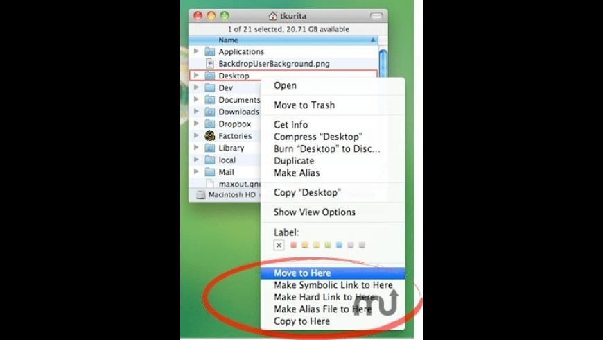 How To Move File To Library Mac