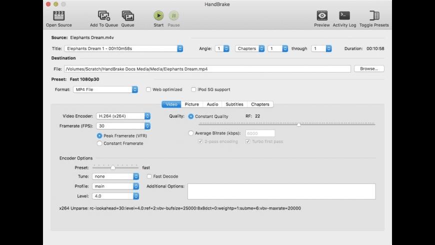 Handbrake For Mac Download Free Latest Version Macos