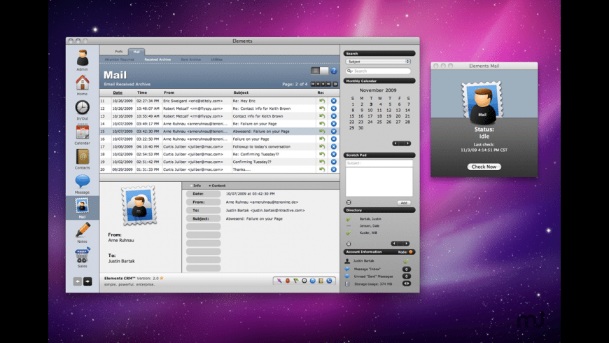 Elements Mail for Mac - review, screenshots