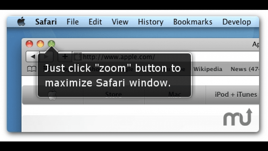 SafariZoom for Mac - review, screenshots