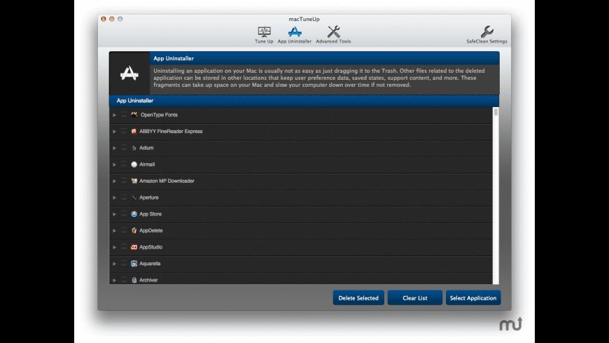 MacTuneUp for Mac - review, screenshots