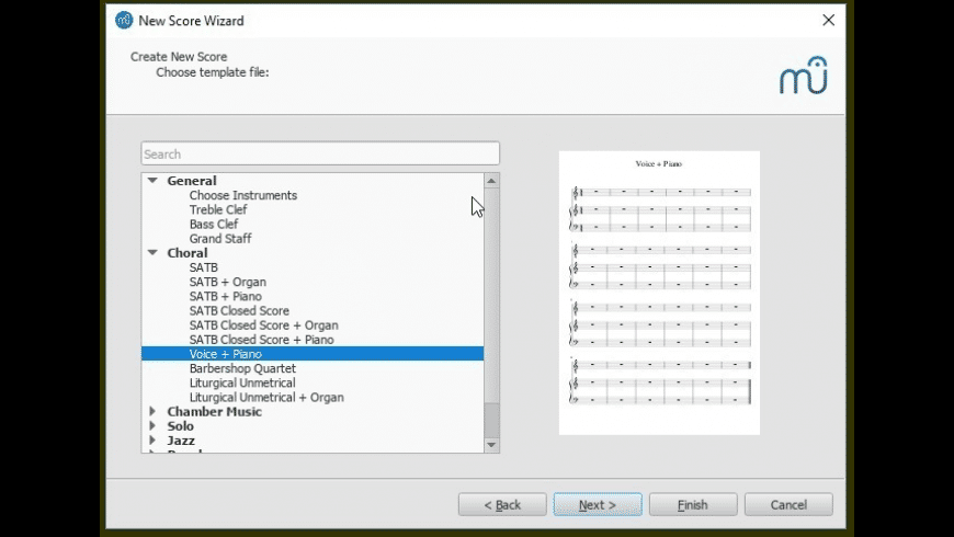 MuseScore for Mac - review, screenshots