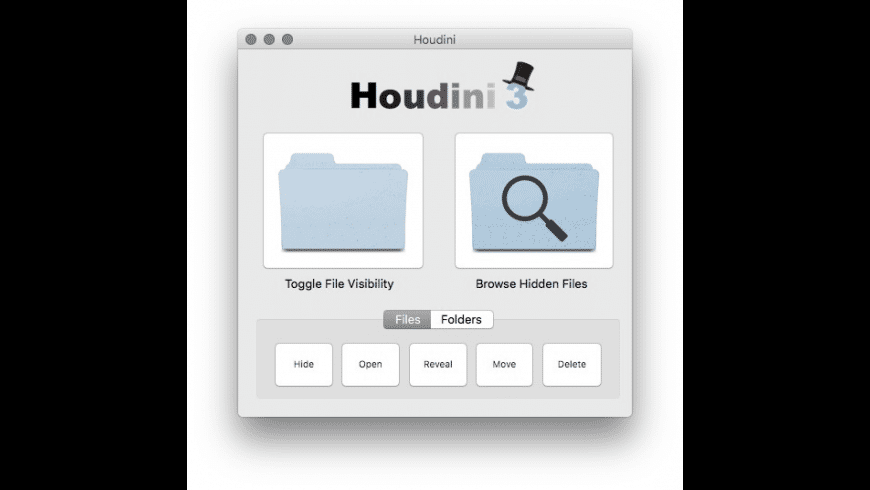 Houdini for Mac - review, screenshots