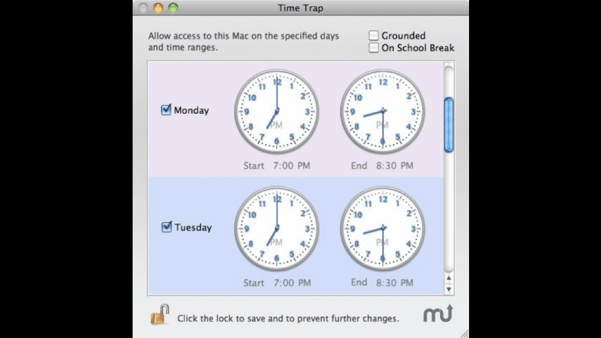 Time Trap for Mac - review, screenshots