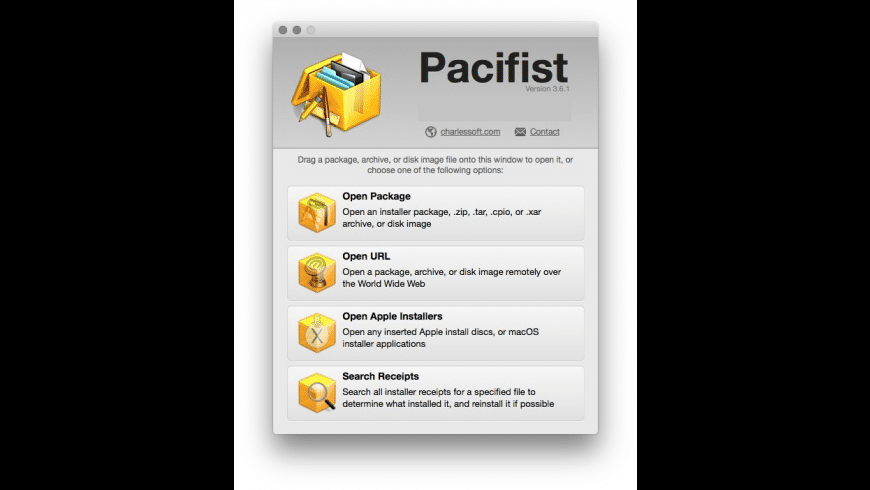 Pacifist for Mac - review, screenshots