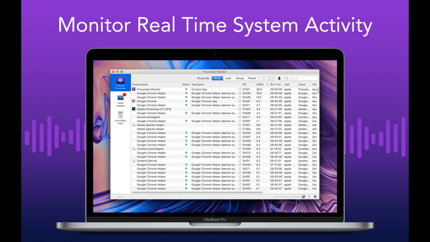 Process Monitor for Mac - review, screenshots