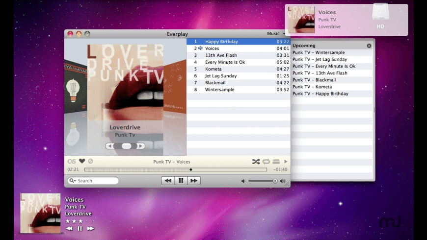 Everplay for Mac - review, screenshots