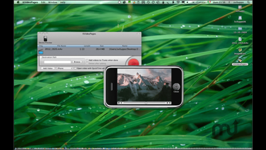 KVideoPages for Mac - review, screenshots