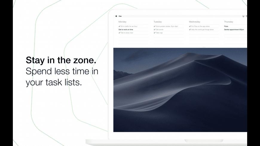 Flee Task Lists for Mac - review, screenshots