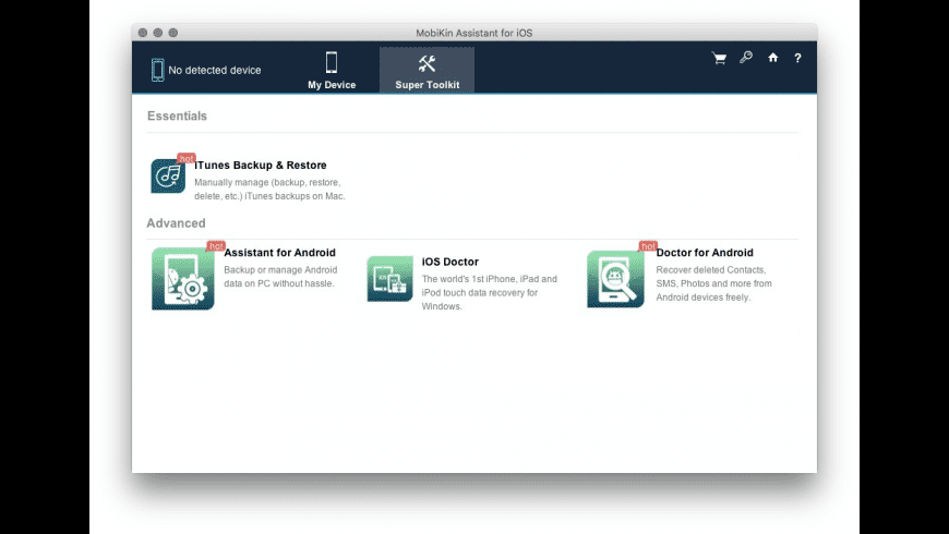 MobiKin Assistant for iOS for Mac - review, screenshots