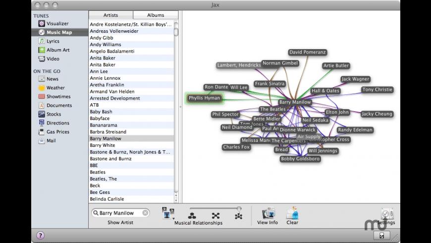Jax for Mac - review, screenshots