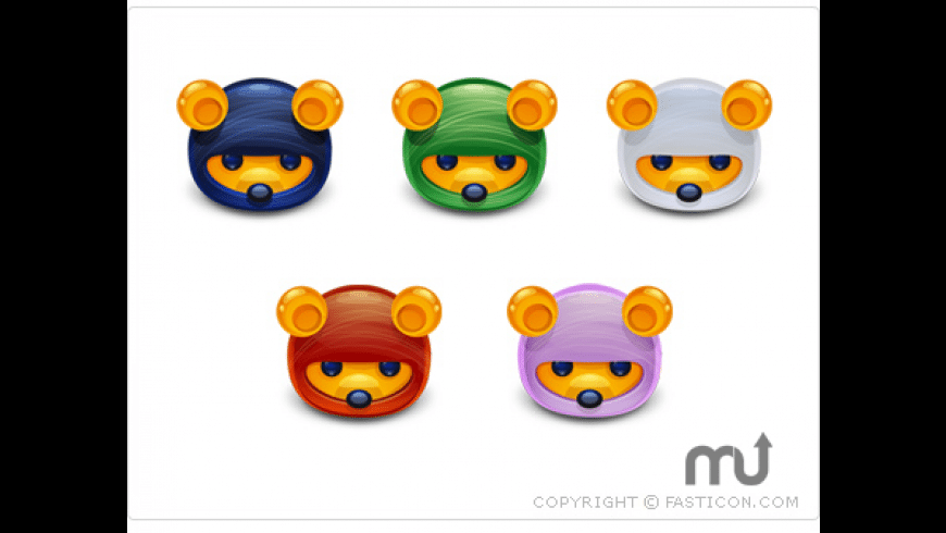 Ninja Bears Icons for Mac - review, screenshots