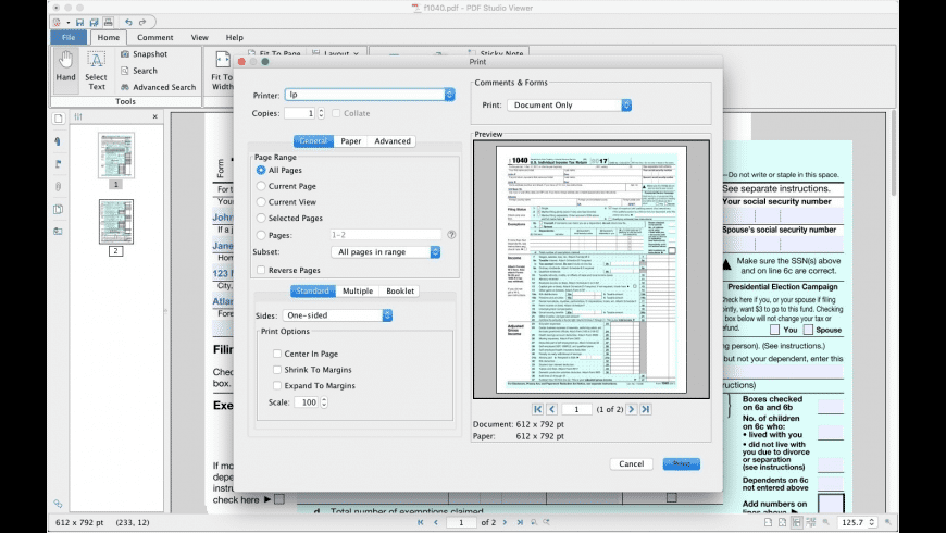 PDF Studio Viewer for Mac - review, screenshots