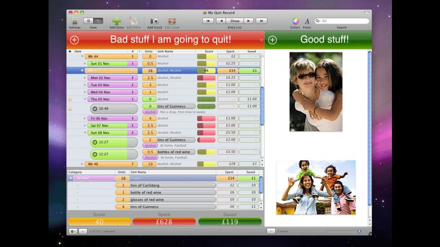 KosmicQuitter for Mac - review, screenshots