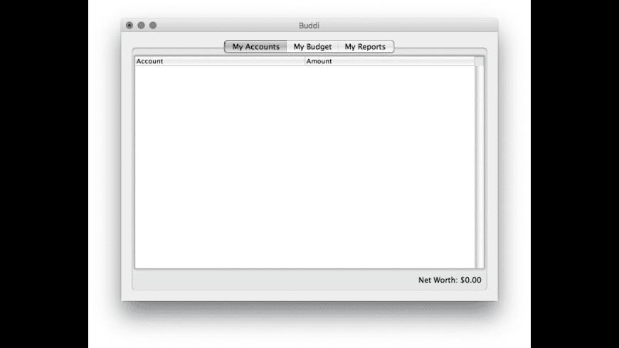 Buddi for Mac - review, screenshots