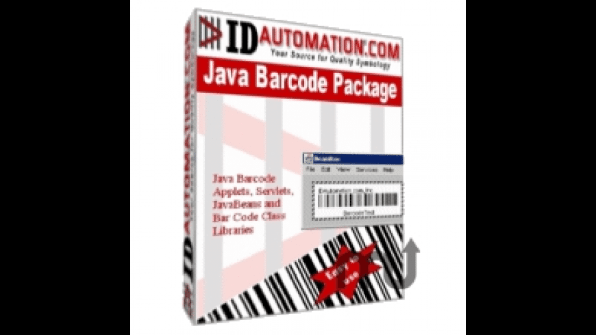 IDAutomation GS1 Databar Java Package for Mac - review, screenshots